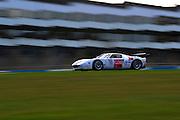 2012 FIA GT1 World Championship.Donington Park, Leicestershire, UK.27th - 30th September 2012.Laurent Groppi / Benjamin Lariche, Ford GT..World Copyright: Jamey Price/LAT Photographic.ref: Digital Image Donington_FIAGT1-18885