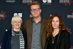(left to right) Hilary Davis (Bankside Films Shorts Juror), Ashley Horner (Shorts Juror), Rebecca Mark- Lawson (Shorts Juror) join the jury line up for the 2016 Edinburgh International Film Festival at  The Apex Hotel Grassmarket, Edinburgh17th June 2016, (c) Brian Anderson | Edinburgh Elite media