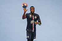 Luc Abalo - 22.04.2015 - PSG / Creteil - 21eme journee de D1<br /> Photo : Andre Ferreira / Icon Sport