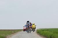 Sykkel<br /> Foto: Dppi/Digitalsport<br /> NORWAY ONLY<br /> <br /> UCI PRO TOUR<br /> PARIS - ROUBAIX 2005 - FRANCE -  10/04/2005 <br /> <br /> ILLUSTRASJON UTBRUDD / BRUDD