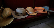 A pattern created by ladies hats.<br /> Photo by Dennis Brack
