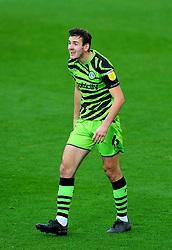 Liam Kitching of Forest Green Rovers- Mandatory by-line: Nizaam Jones/JMP - 31/10/2020 - FOOTBALL - Jonny-Rocks Stadium - Cheltenham, England - Cheltenham Town v Forest Green Rovers - Sky Bet League Two