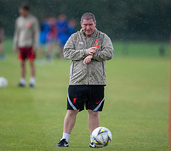 WALLASEY, ENGLAND - Wednesday, July 28, 2021: Liverpool's manager Matt Beard during a training session at The Campus as the team prepare for the start of the new 2021/22 season. (Pic by David Rawcliffe/Propaganda)