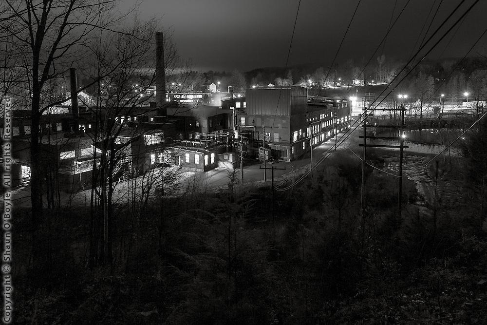 Pioneer Mill on Housatonic River, Dalton, MA