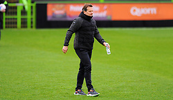 Forest Green Rovers manager Mark Cooper looks on- Mandatory by-line: Nizaam Jones/JMP - 14/11/2020 - FOOTBALL - innocent New Lawn Stadium - Nailsworth, England - Forest Green Rovers v Mansfield Town - Sky Bet League Two