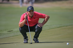 March 21, 2018 - Austin, TX, U.S. - AUSTIN, TX - MARCH 21: Francesco Molinari (ITA) looks over the green during the First Round of the WGC-Dell Technologies Match Play on March 21, 2018 at Austin Country Club in Austin, TX. (Photo by George Walker/Icon Sportswire) (Credit Image: © George Walker/Icon SMI via ZUMA Press)