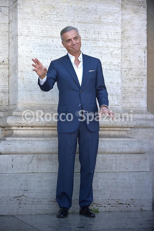 MASSIMO GHINI PHOTOCALL<br /> del film NATALE A 5 STELLE di  MARCO RISI. 4 dicembre 2018