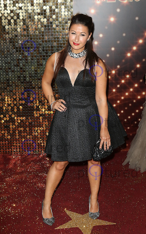 Hayley Tamaddon, The British Soap Awards 2015, The Palace Hotel, Manchester UK, 16 May 2015, Photo by Richard Goldschmidt
