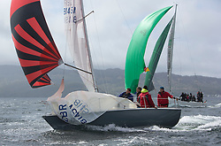 Day one of the Silvers Marine Scottish Series 2015, the largest sailing event in Scotland organised by the  Clyde Cruising Club<br /> Racing on Loch Fyne from 22rd-24th May 2015<br /> <br /> <br /> GBR8145N , Scruples , Chris Tait, Helensburgh SC<br /> <br /> Credit : Marc Turner / CCC<br /> For further information contact<br /> Iain Hurrel<br /> Mobile : 07766 116451<br /> Email : info@marine.blast.com<br /> <br /> For a full list of Silvers Marine Scottish Series sponsors visit http://www.clyde.org/scottish-series/sponsors/