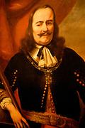 Rijksmuseum Amsterdam / National Museum Amsterdam:<br /> Titel/Title: Michiel Adriaensz de Ruyter (1607-76). Luitenant-admiraal <br /> Kunstenaar kopie naar Bol, Ferdinand  (schilder)