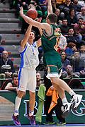 DESCRIZIONE : Eurocup 2014/15 Last32 Dinamo Banco di Sardegna Sassari -  Banvit Bandirma<br /> GIOCATORE : Giacomo Devecchi<br /> CATEGORIA : Tiro Tre Punti<br /> SQUADRA : Dinamo Banco di Sardegna Sassari<br /> EVENTO : Eurocup 2014/2015<br /> GARA : Dinamo Banco di Sardegna Sassari - Banvit Bandirma<br /> DATA : 11/02/2015<br /> SPORT : Pallacanestro <br /> AUTORE : Agenzia Ciamillo-Castoria / Luigi Canu<br /> Galleria : Eurocup 2014/2015<br /> Fotonotizia : Eurocup 2014/15 Last32 Dinamo Banco di Sardegna Sassari -  Banvit Bandirma<br /> Predefinita :