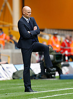 Football - The Championship- Wolverhampton Wanderers v Leicester City -  Wolves' manager Stale Solbakken does the Flamingo at Molineux