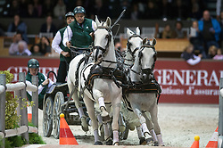 Ijsbrand Chardon (NED) <br /> FEI World Cup Driving Final - R1 <br /> Jumping International de Bordeaux 2013<br /> © Hippo Foto - Jon Stroud
