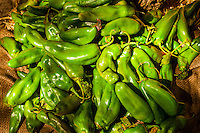 Green chiles, El Pinto Restaurant and Cantina, Albuquerque, New Mexico USA
