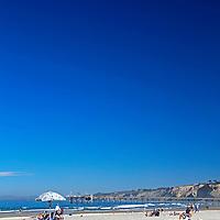 USA, California, La Jolla. La Jolla Shores, Beach in San Diego.