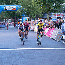 EMMEN (|NED) wielrennen<br />De 42e editie van de Gouden Pijl is gewonnen door Dylan Groenewegen voor Matteo Trentin en Dylan van Baarle
