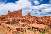 San Gregorio Church at Abo Ruins, Salinas Pueblo Missions National Monument., New Mexico, USA