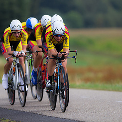 Boels Rental Ladies Tour Coevorden TTT 10th Team Rabo Plieger Jan van Arckel Winanda Spoor, Chris van den Bergh, Kirsten Peetoom, Silke Kogelman, Corine van der Zijden, Roos Hoogeboom