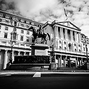Bank of England at sunrise shot on iPhone 6.