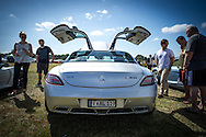 Mercedes Benz SLS AMG - Custom Cars & Coffee November 2014