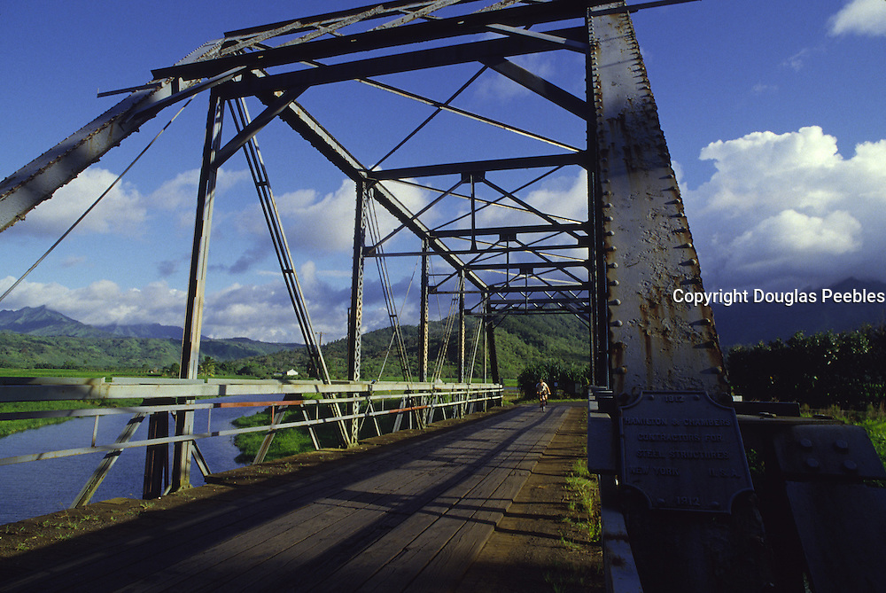 Hanalei Bridge, Hanalei, Kauai, Hawaii<br />