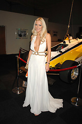 EMMA NOBLE at a preview of a forthcoming sale of cars from the Bernie Ecclestone Car Collection held at Battersea Evolution, Battersea Park, London SW11 on 30th October 2007.<br /><br />NON EXCLUSIVE - WORLD RIGHTS