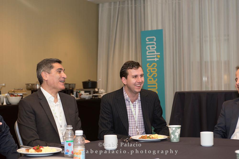 The Lendit Loyal Breakfast at LendIt USA 2016 conference in San Francisco, California, USA on April 11, 2016. (photo by Gabe Palacio)