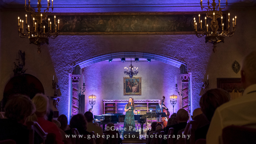 Cabaret in the Music Room with<br /> Melissa Errico, Broadway's Fair Ladies: The Music and Characters that have Shaped My Life, A Benefit Event at Caramoor in Katonah New York on May 6, 2017. <br /> (photo by Gabe Palacio)