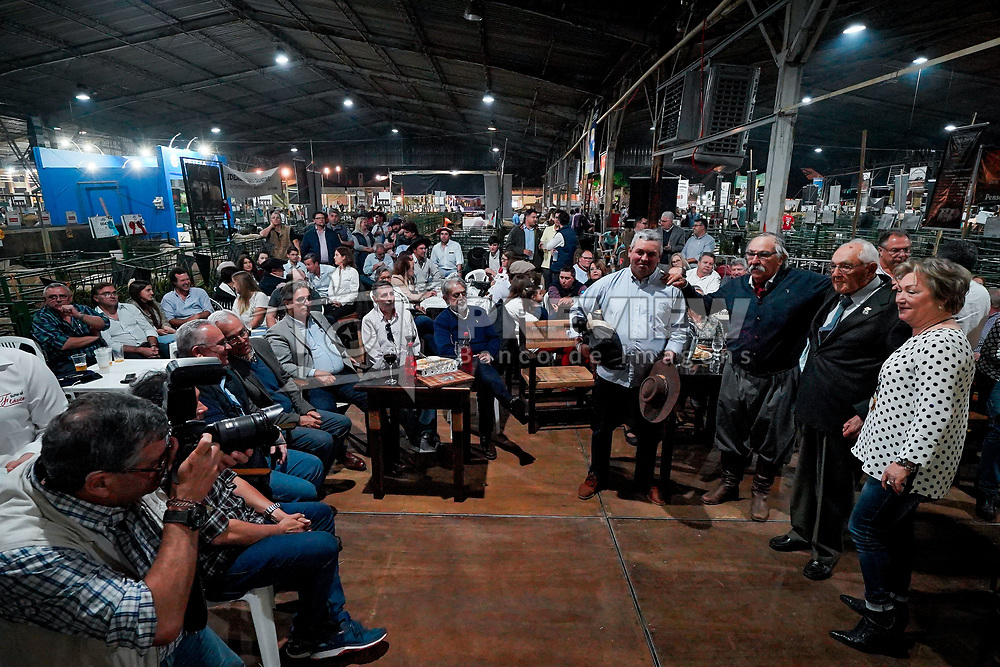 Premiação dos campeões da raça ideal durante a 42ª Expointer, que ocorre entre 24 de agosto e 01 de setembro de 2019 no Parque de Exposições Assis Brasil, em Esteio. FOTO: Joel Vargas / Agência Preview