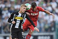 v.l. Oscar Wendt, Milos Jojic (Koeln)<br /> Moenchengladbach, 20.08.2017, Fussball Bundesliga, Borussia Moenchengladbach - 1. FC Köln 1:0<br /> <br /> Norway only