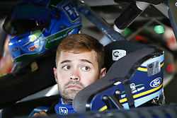 September 23, 2017 - Loudon, New Hampshire, United States of America - September 23, 2017 - Loudon, New Hampshire, USA: Ricky Stenhouse Jr (17) hangs out in the garage during practice for the ISM Connect 300 at New Hampshire Motor Speedway in Loudon, New Hampshire. (Credit Image: © Justin R. Noe Asp Inc/ASP via ZUMA Wire)