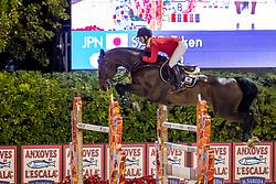 Sato Eiken, JPN, Chacanno<br /> Longines FEI Jumping Nations Cup Final<br /> Challenge Cup - Barcelona 2019<br /> © Dirk Caremans<br />  05/10/2019