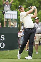 May 5, 2019 - Charlotte, North Carolina, United States of America - Seamus Power tees off on the first hole during the final round of the 2019 Wells Fargo Championship at Quail Hollow Club on May 05, 2019 in Charlotte, North Carolina. (Credit Image: © Spencer Lee/ZUMA Wire)