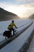 Winter Bicycle Tour - Olympic National Park - Washington State
