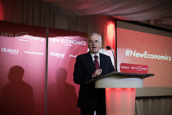 © Licensed to London News Pictures . 04/02/2017 . Liverpool, UK . JOHN MCDONNELL speaks . Labour Party leader Jeremy Corbyn and Shadow Chancellor John McDonnell launch the party's first regional economic conference at the Devonshire House Hotel . Photo credit : Joel Goodman/LNP