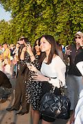 PIPPA LAMB; AASTHA GURDAX; CHARLES FINCH'S CHUCS SWIMATHON 2013, SERPENTINE, Hyde Park, London. 4 July 2013.