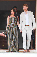 Prince Harry and Meghan at High Commission Reception - 24 Sep 2019