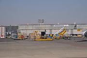Landing at Ben Gurion International airport, Tel Aviv, Israel