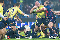Romania's, Mihaita Lazar (R), during their rugby test match between Romania and USA, on National Stadium Arc de Triomphe in Bucharest, November 8, 2014. Romania lose the match against USA, final score 17-27.