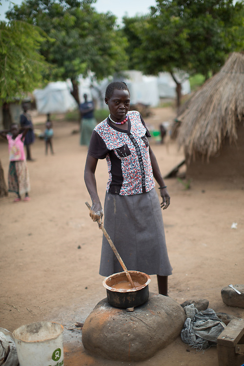 Jane Thabu is a refugee from South Sudan. Her journey was tough, she travelled with her children, and without drugs for her illness. She now lives in the Bidibidi Refugee Settlement in northern Uganda.