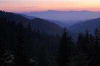 Hasmas Mountains, Cheile Bicazului-Hasmas National Park, Carpathians, Transylvania, Romania,