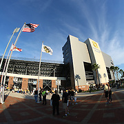 ORLANDO, FL - OCTOBER 09:  A general view of the exterior courtyard of Bright House Networks Stadium on October 9, 2014 in Orlando, Florida. (Photo by Alex Menendez/Getty Images) *** Local Caption ***