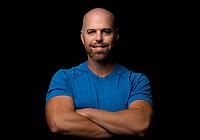 Outdoor headshot of Personal Fitness Trainer Frank Arbizu of FJA Training.<br /> <br /> September 15, 2020.<br /> <br /> Photo: Steve Kingsman