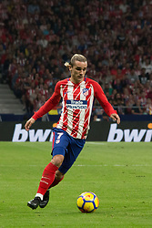 October 28, 2017 - Madrid, Spain - Griezmann..Draw at 1 in Wanda Metropolitano stadium. (Credit Image: © Jorge Gonzalez/Pacific Press via ZUMA Wire)