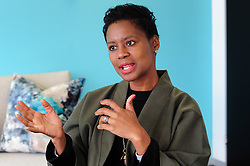 Cape Town - 180713 - Khanyi Dhlomo is a South African TV Host and the founder and CEO of Ndalo Media and Ndalo Luxury Ventures. She was speaking to the Weekend Argus about the launch of Project Runway South Africa. Picture: Henk Kruger/ANA/African News Agency