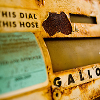 Rusted Gas Pump | Oil and Climate Change | Transportation and Dirty Energy | Drew Bird Photography | San Francisco Freelance Photographer | Freelance Photojournalist | Oakland Event Photographer