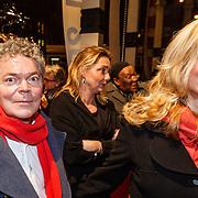 NLD/Amsterdam/20160311 - Inloop Boekenbal 2016, Koen Verbraak en partner