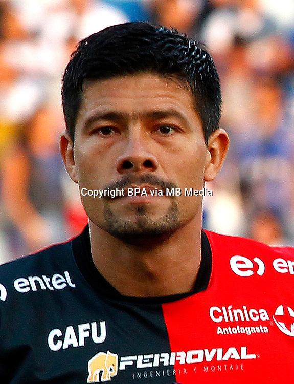 Chile Football League First Division - <br /> Scotiabank Tournament 2016 - <br /> ( Club de Deportes Antofagasta ) - <br /> Rodrigo Fabian Riquelme Cabrera