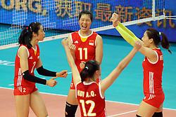 Team China celebrate