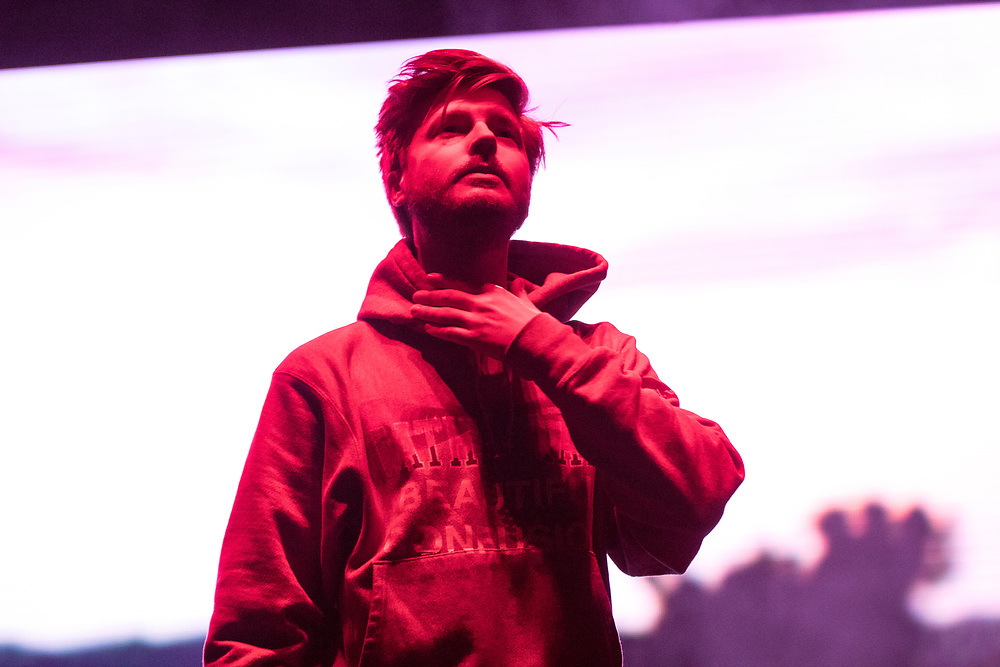 Lido performs at the Camp Flog Gnaw Carnival in Los Angeles, CA on November 11, 2018.